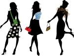 Three Fashionable Women