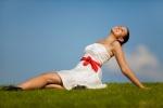 Young woman confidently enjoying life!