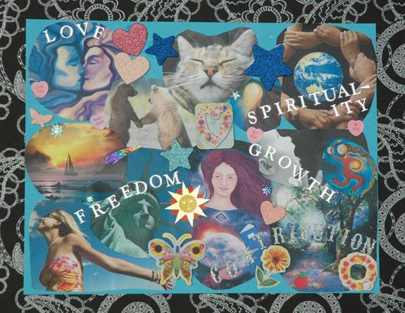 Key Values Collage
