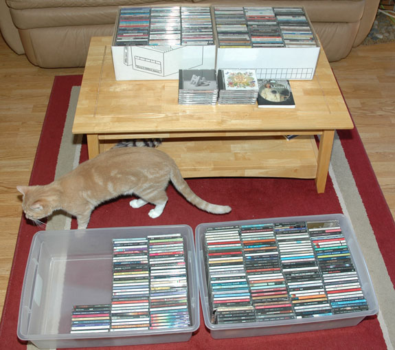 The CD De-Cluttering Process
