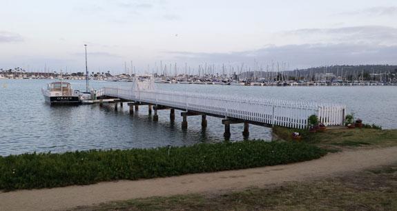 La Playa dock