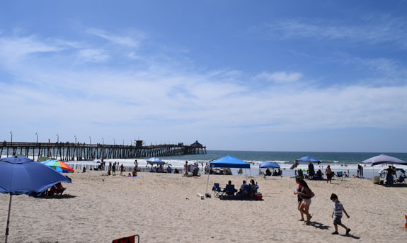 Imperial Beach and the pier