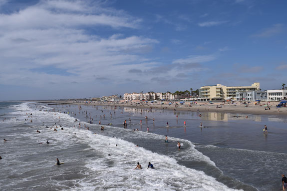 Imperial Beach - water and sky