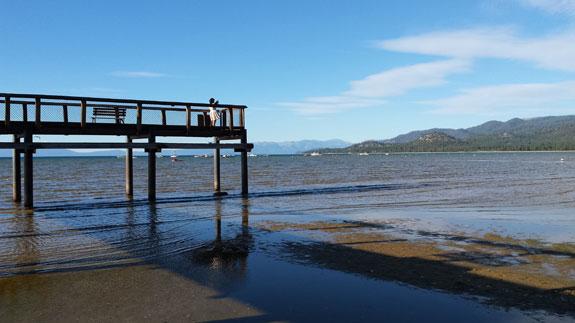 Pier at South Lake Tahoe