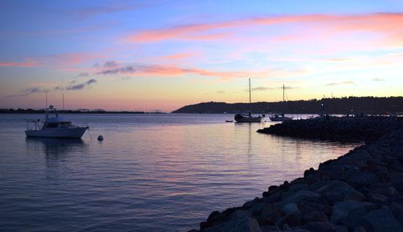 Shelter Island twilight sky