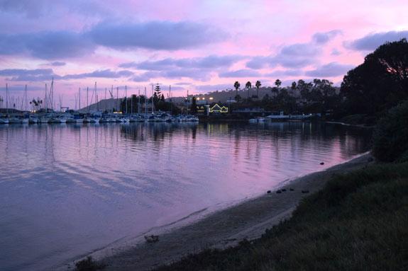 La Playa sunset