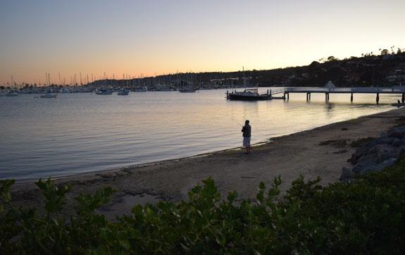 La Playa fisherman
