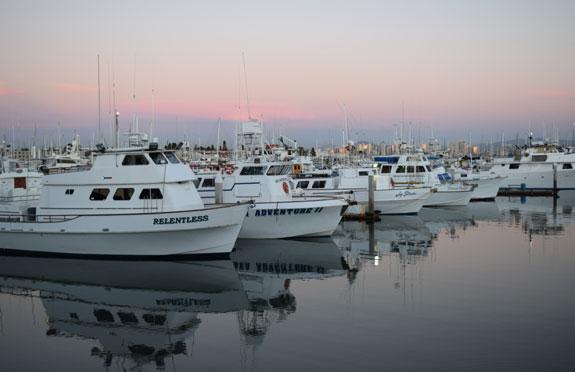 fishing boats