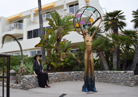 Laguna Beach statue