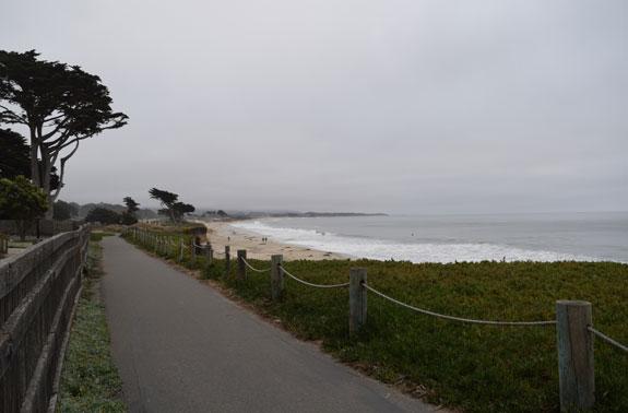Half Moon Bay path