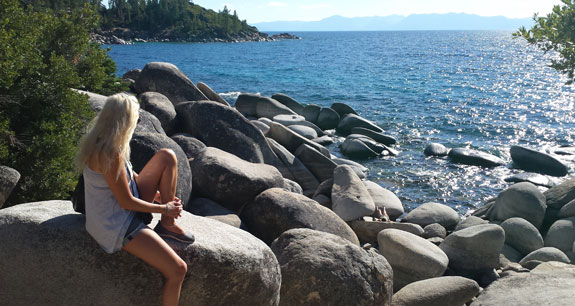 A fellow Lake Tahoe admirer