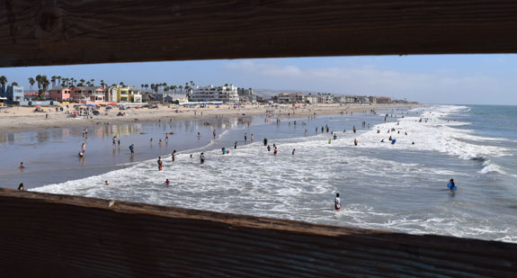 Looking south - Imperial Beach pier