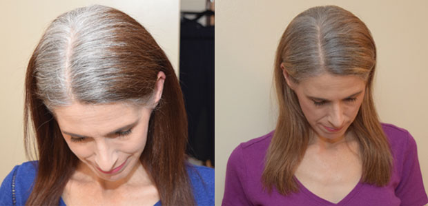 before and after my first round of highlights
