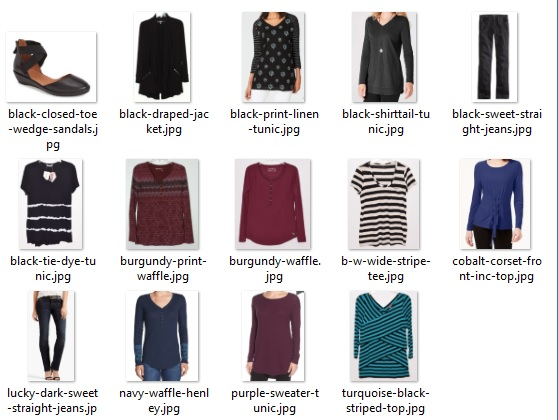 wished-for closet items