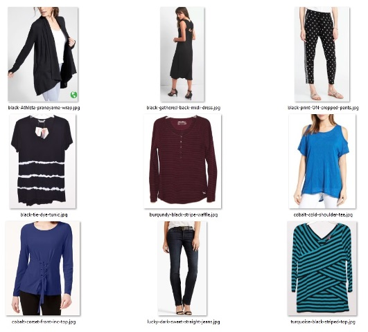 good clothes examples