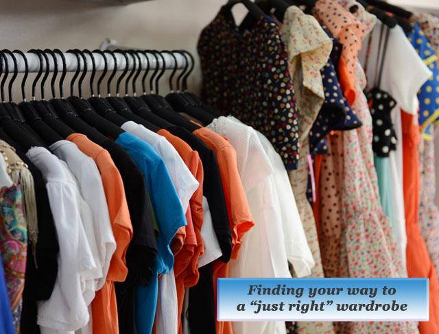 just right wardrobe