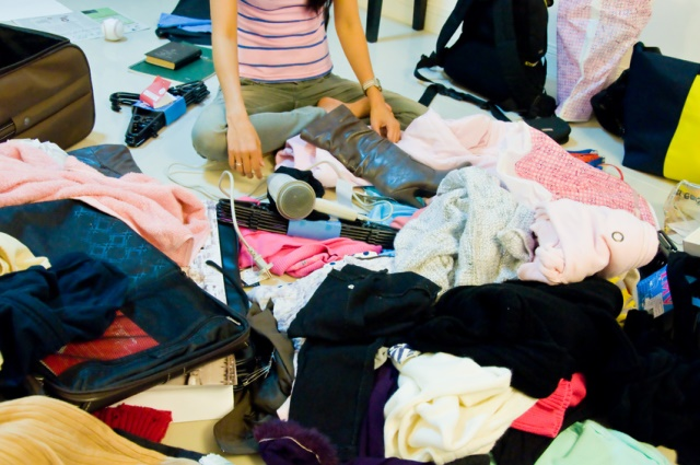 chaotic wardrobe