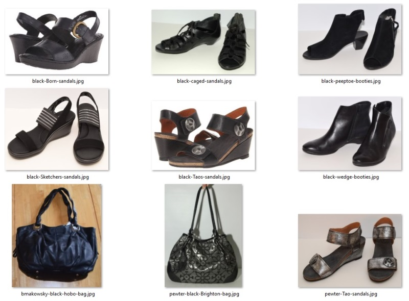 fall 2018 challenge shoes and bags