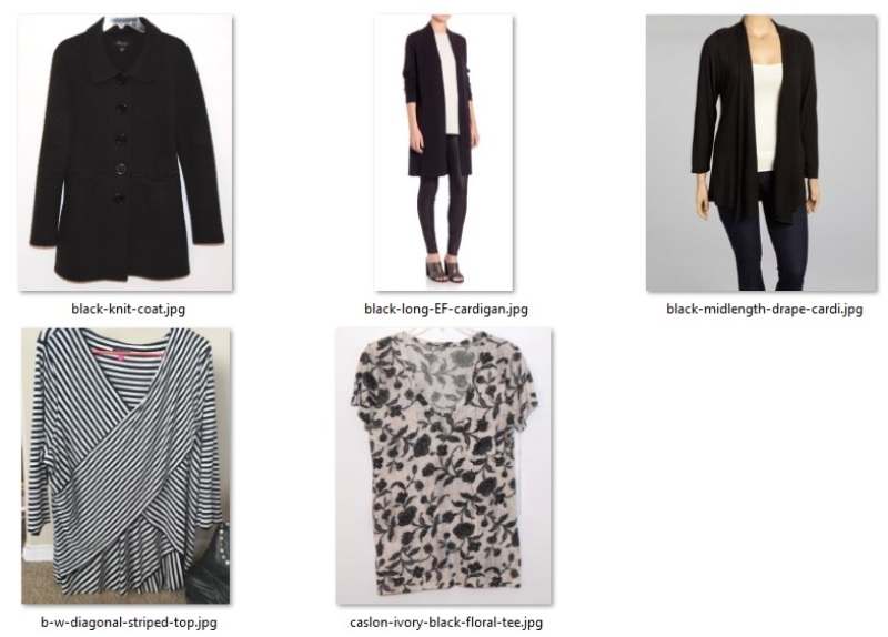fall 2018 challenge - style and fit swaps