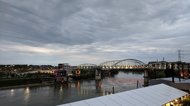 View from Broadway Rooftop Bar, Nashville, Tennessee