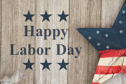 Happy Labor Day Greeting