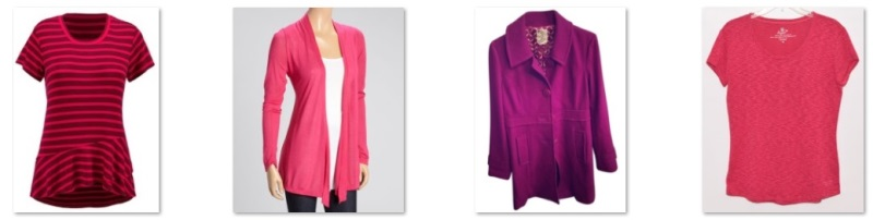 my pink and fuchsia items