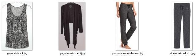 gray items