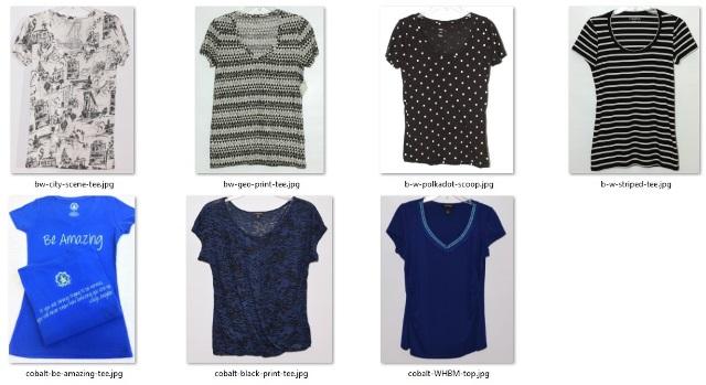 short-sleeved tops