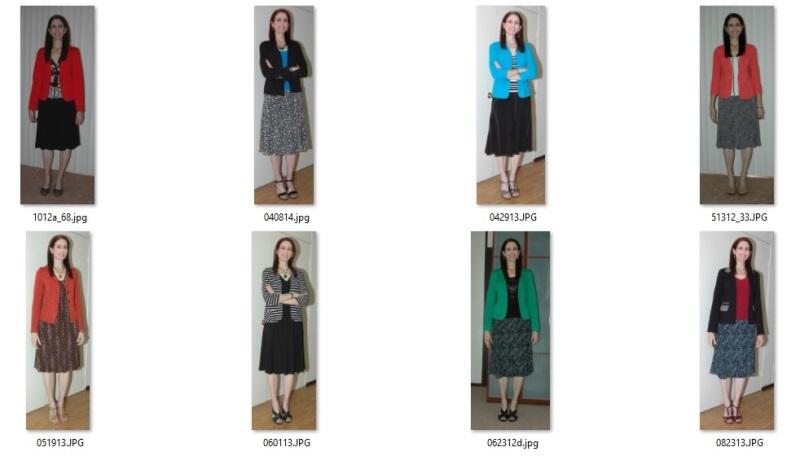 blazer outfits 2012-2014