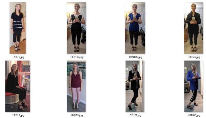 recent cropped pants outfits