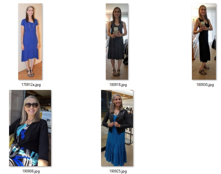 recent dress outfits