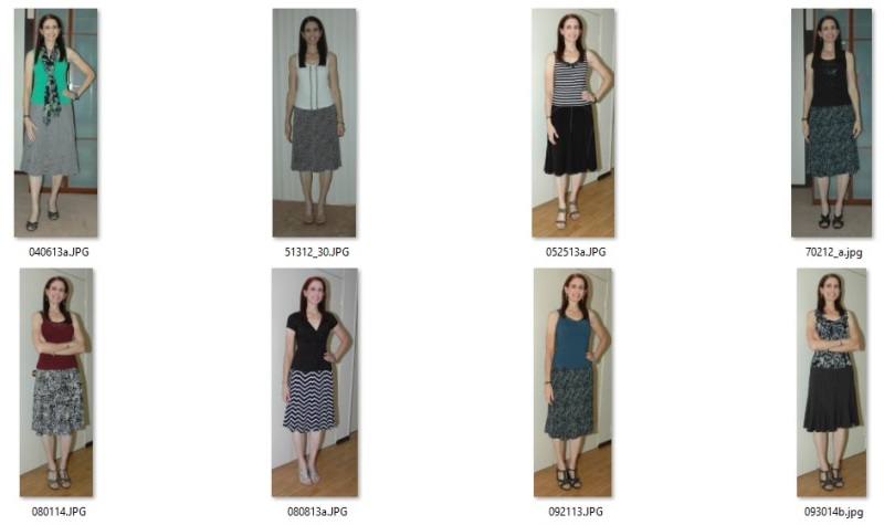 skirt outfits 2012-2014