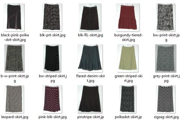 my skirts circa 2006 - 2014