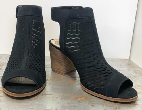 black Vince Camuto Lavette booties