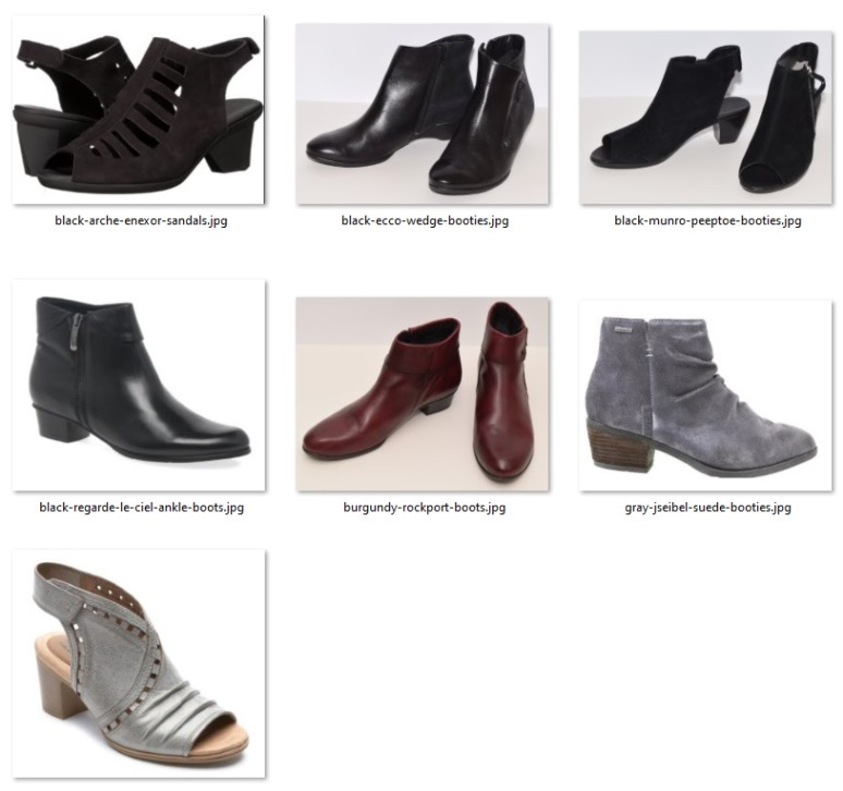 """rule of ten shoes for """"not summer"""""""