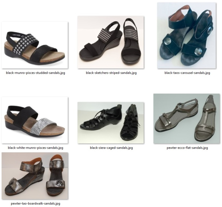 rule of ten shoes for summer