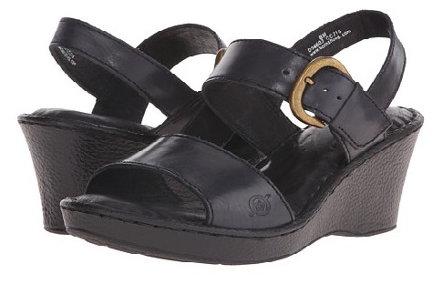 black Born sandals