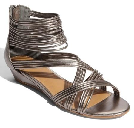 pewter Kelsi Dagger Kassa sandals