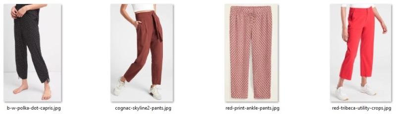alternate pants possibilities