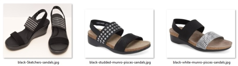 alternate shoe possibilities
