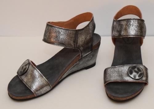 pewter Taos sandals