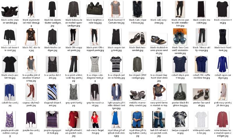 summer 55 items - all