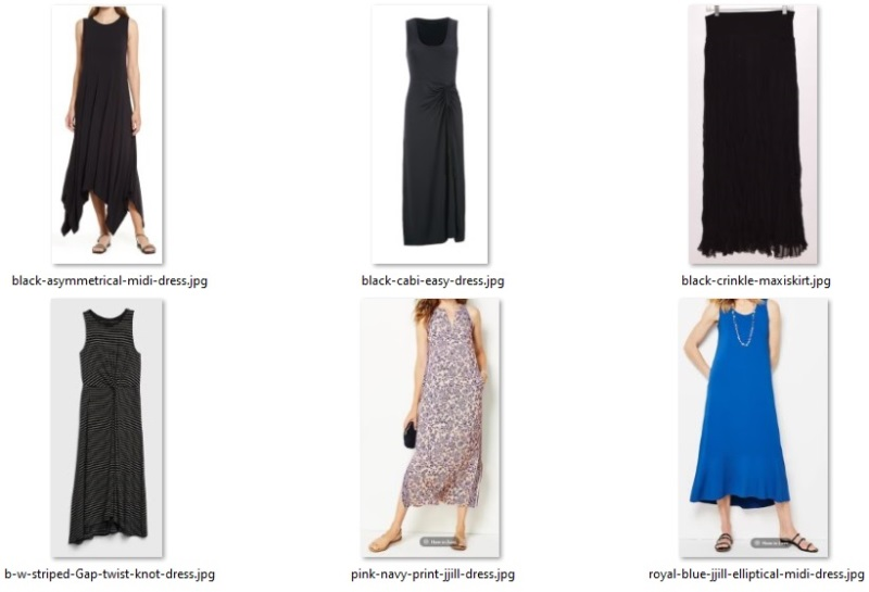 summer 55 items - dresses and skirt