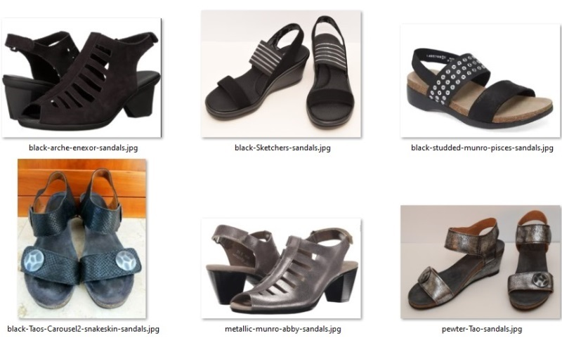 summer 55 items - shoes