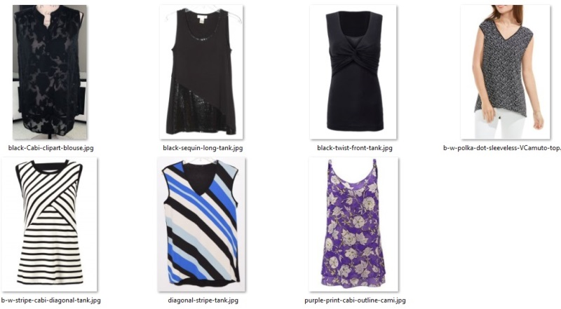summer 55 items - sleeveless tops for pants
