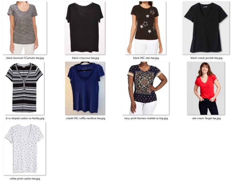 summer 55 items - short-sleeved tops for pants