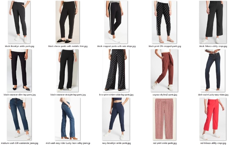 wardrobe do's - out-and-about pants