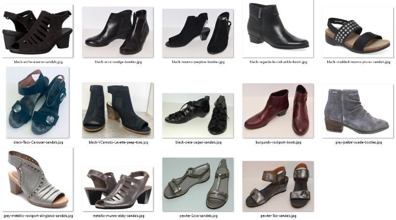 wardrobe do's - shoes