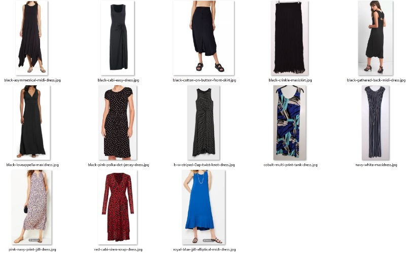 wardrobe do's - skirts and dresses