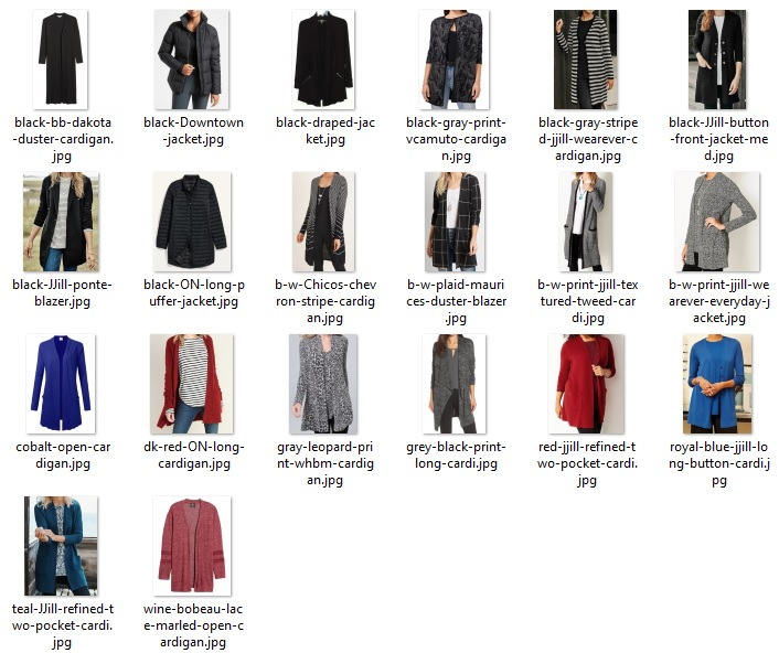 wardrobe do's - toppers